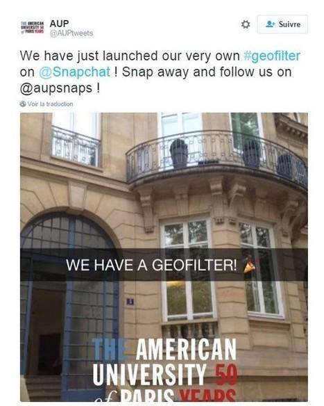 Comment le Community Manager peut-il créer des filtres géo-localisés sur SnapChat ? | ADN des Réseaux Sociaux | Scoop.it