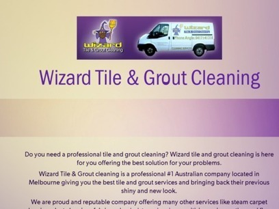 Wizard Tile & Grout Cleaning | Cleaning your home | Scoop.it