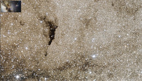 Zoomable photo of the Milky Way's center (1 Billion pixel mosaic) | World of Science | Scoop.it
