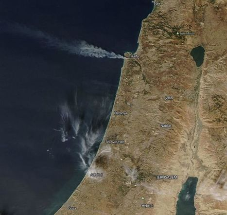 The Magnitude of Israel's Fires by The Numbers (21 photos) | EM 451 Disaster Planning | Scoop.it