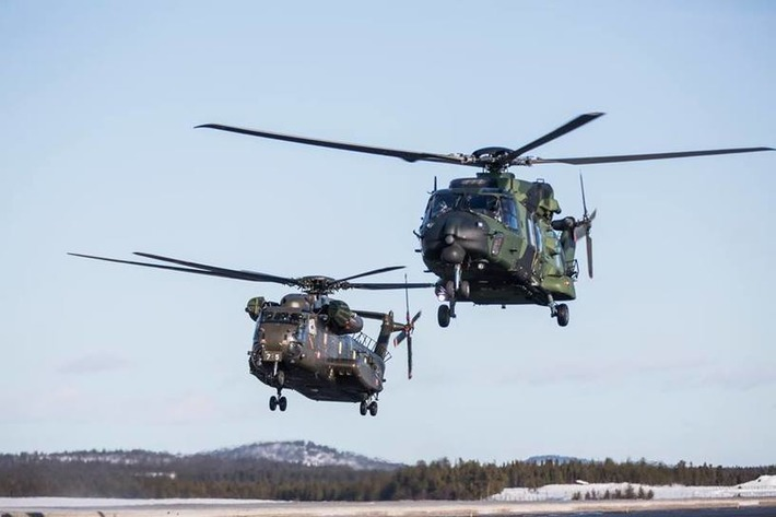 COLD BLADE 2016 - European Defence  Agency - NH90  & CH-53 - Ivalo, Finland | NHIndustries - NH90 | Scoop.it