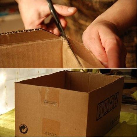 Полезный короб для хранения вещей. / короб из ткани выкройка | Trabalhos Manuais no Jardim de Infância | Scoop.it