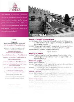 III Biennale d'Arte Creativa a Viterbo | Wiilo | Wiilo a new city experience | Scoop.it