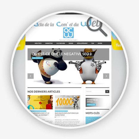 Création du site web de L'actu de la Com' et du web | Actu de la Com' et du Web | Scoop.it