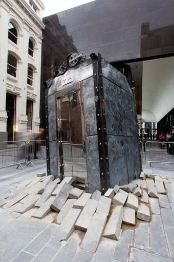 The Lift by Oded Hirsh | Art Installations, Sculpture, Contemporary Art | Scoop.it