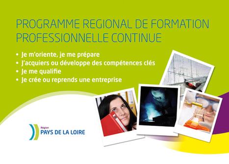 L'offre régionale de formation professionnelle continue 2015-2016 sur le site Orientation-paysdelaloire.fr | Actu du Carif-Oref des Pays de la Loire | Scoop.it