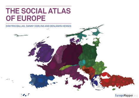 Europemapper - The social atlas of Europe | AP HUMAN GEOGRAPHY DIGITAL  STUDY: MIKE BUSARELLO | Scoop.it