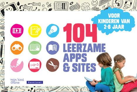 104 leerzame apps en sites voor kinderen van 2 tot 8 jaar   Mediawijzer   D-TEACH   Scoop.it
