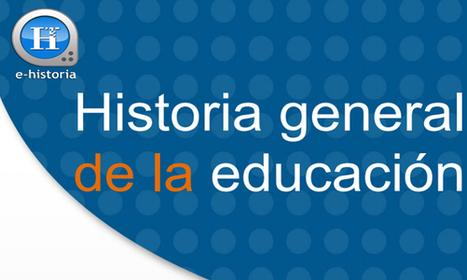 Libro – Historia General de la Educación – José Alonso Salas - E-Historia   Educacion, ecologia y TIC   Scoop.it
