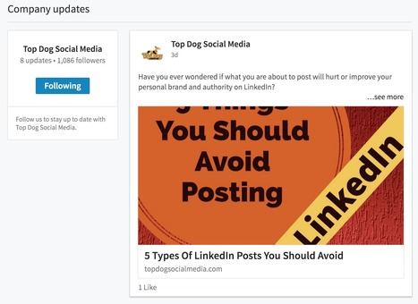 Changes To LinkedIn Company Pages [Tutorial] | Public Relations & Social Media Insight | Scoop.it