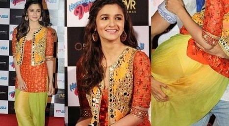~ Alia Bhatt's Wardrobe Malfunction At Movie Trailer Launch | CouponsKaaBaap | Scoop.it