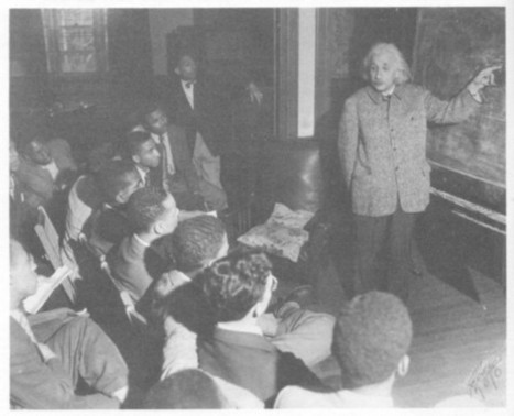 """Ralph Dumain: """"The Autodidact Project"""": Albert Einstein & Black Americans 