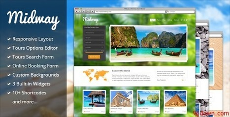 Midway 3.4 Responsive Travel WP Theme | Download Free Full Scripts | travel2ooty | Scoop.it