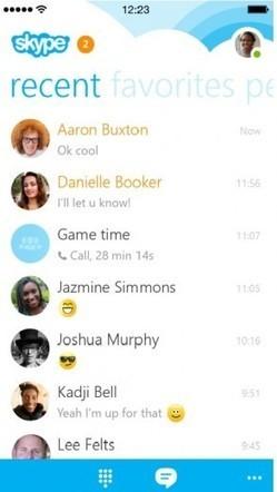 Skype 5.0 llega para IPhone — Cambio16 Diario Digital, periodismo de autor | Nuevas tecnologías y redes sociales | Scoop.it