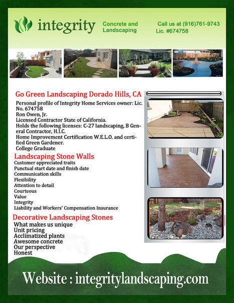 Commercial Landscaping Service in Granite Bay CA | Integrity Landscaping | Scoop.it