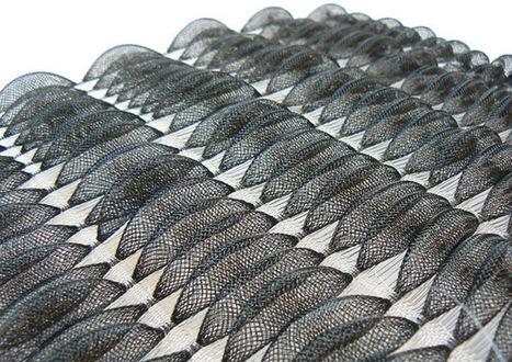Matières ouvertes : un studio de design textile très innovant | Positive content | Scoop.it