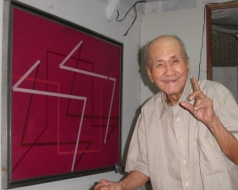 Celebrating Constancio Bernardo, foremost abstract artist of the Philippines - GMA News | Abstract Art | Scoop.it