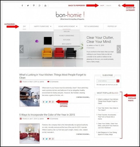 Pepperfry Clone Guide: Script Features to Build Advanced Furniture Website | Web Design & Development Company India | Scoop.it