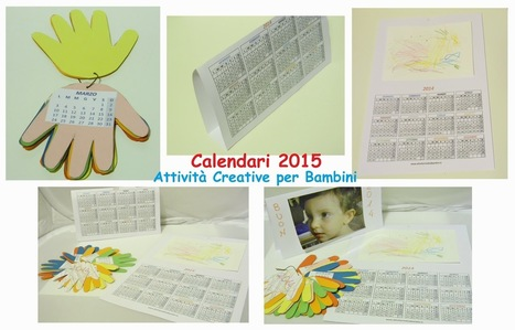 Attività Creative Per Bambini: Attività con i Calendari 2015 | Natale, Pasqua e Feste varie - Christmas, Easter and Holidays | Scoop.it