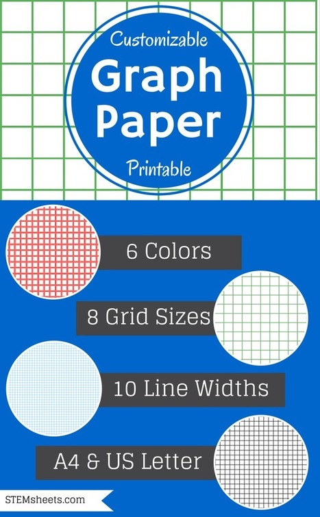 Graph Paper Template | Math Worksheets and Flash Cards | Scoop.it