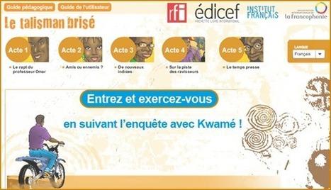 RFI - le Talisman brisé - Une aventure africaine pour se familiariser avec le français | Remue-méninges FLE | Scoop.it