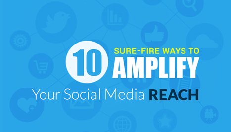 10 Ways to Expand Your Social Media Reach | Vocso | Business & Marketing | Scoop.it