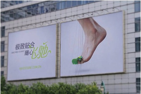 Nike Knits A Giant Sneaker Billboard In Real-Time To Show Off New Shoe Material...   Art for art's sake...   Scoop.it