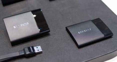 SSD Samsung portable T1, 1 To dans le creux de la main   Technologie Au Quotidien   Scoop.it