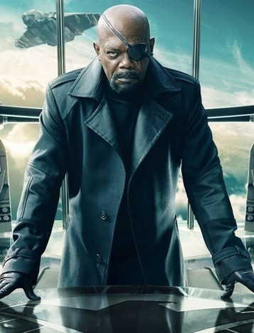 Captain America The Winter Soldier Nick Fury Coat in Black Trench | House of outfits | Scoop.it