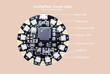 KeKePad Wearable Board Offers An Alternative To Connective Thread - Geeky Gadgets   Raspberry Pi   Scoop.it