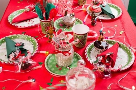 La table Christmas Candy | Annikids, le blog | Mes trucs de fête | Scoop.it