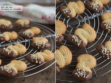 Pastas de té con chocolate y almendras | Qué se #cocina en la red | Scoop.it