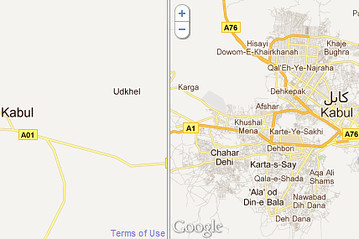 On Google Maps: Afghanistan, Brought to You by India | Mapmakers | Scoop.it