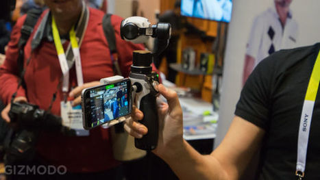 DJI Inspire 1 Mount Puts An Incredible 4K Drone Camera In Your Hand | 2014 | Scoop.it