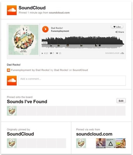 SoundCloud » SoundCloud Unmutes Pinterest | Radio Hacktive (Fr-Es-En) | Scoop.it