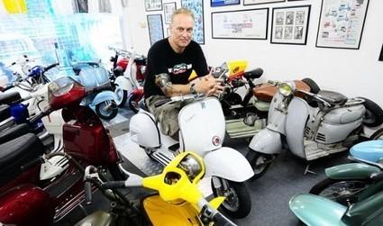 British scooter buff creates electronic Vespa | Vespa Stories | Scoop.it