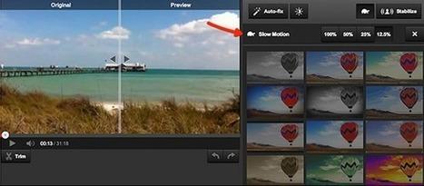 Youtube ajoute la fonction slow motion | MyEbusinessZone | Scoop.it