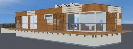 Gewoonboot : prototype de maison flottante écologique à Amsterdam | Architecture insolite | Scoop.it