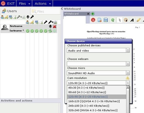 Apache OpenMeetings Project – Open-Source Web-Conferencing | Time to Learn | Scoop.it