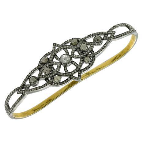 18k Gold Diamond Bracelet Jewelry | Diamond Jewelry | GemcoDesigns | Pave Diamond Palm Bracelets | Diamond Jewelry | GemcoDesigns | Scoop.it