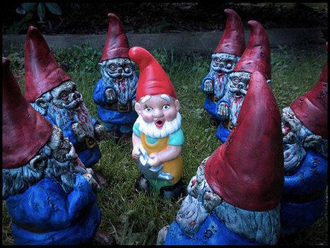 When Zombie Garden Gnomes Attack | Zombie Mania | Scoop.it