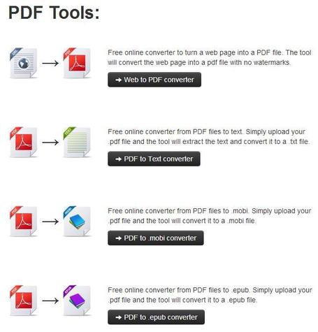 Un outil en ligne de conversion PDF, KitPDF | formation 2.0 | Scoop.it