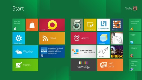 Windows 8 theme for Android: a Skydroid project | Wapak | Scoop.it