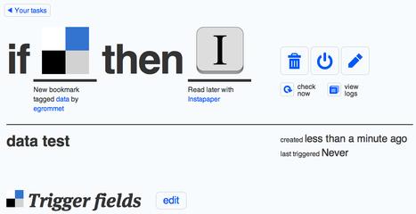 ifttt   Data journalism tools   Scoop.it