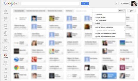 Bloquer ou débloquer un contact sur Google+, mode d'emploi | Time to Learn | Scoop.it