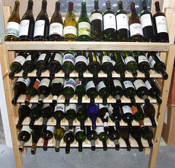 IKEA bed frame as wine rack – aged sur lit [DIY] | @zone41 Wine World | Scoop.it