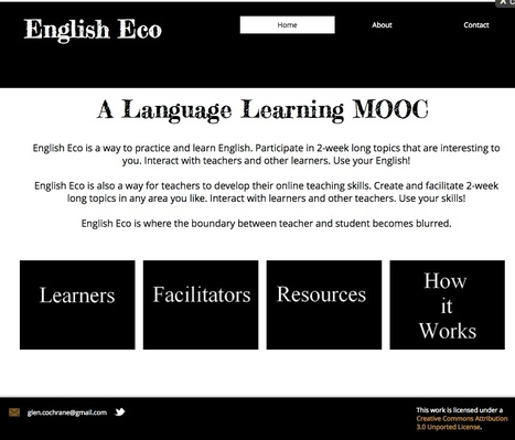 EN: English Eco - A Language Learning MOOC | Wix.com | LMOOC | Scoop.it