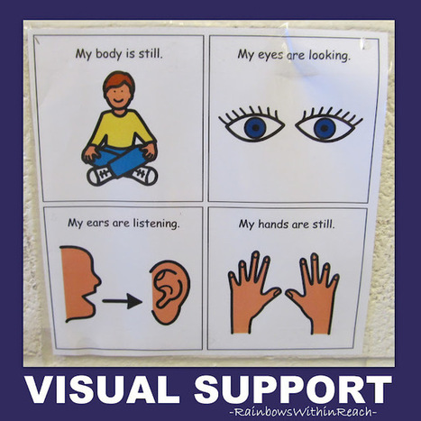 Visual Supports Galore & Music! | Communication and Autism | Scoop.it