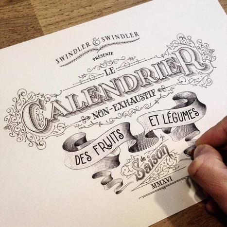 25 Cool Typography & Lettering Designs | From up North | Graphic Facilitation and Sketchnoting | Scoop.it