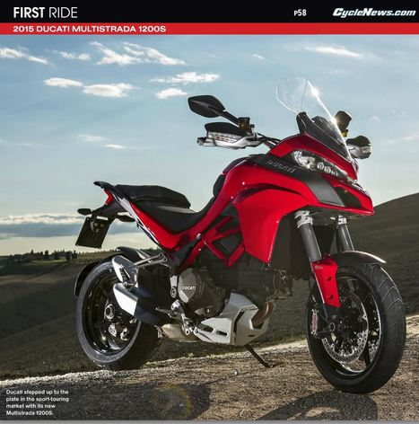 Cycle News: First Ride - 2015 Ducati Multistrada 1200S | Ductalk Ducati News | Scoop.it